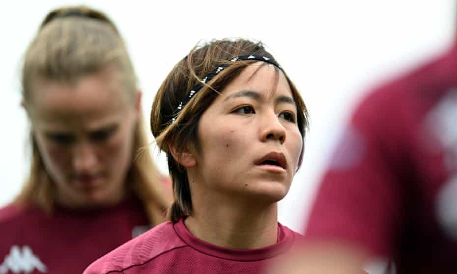 Aston Villa's Mana Iwabuchi says: 'I want to be a player who can provide motivation to lots of people.'