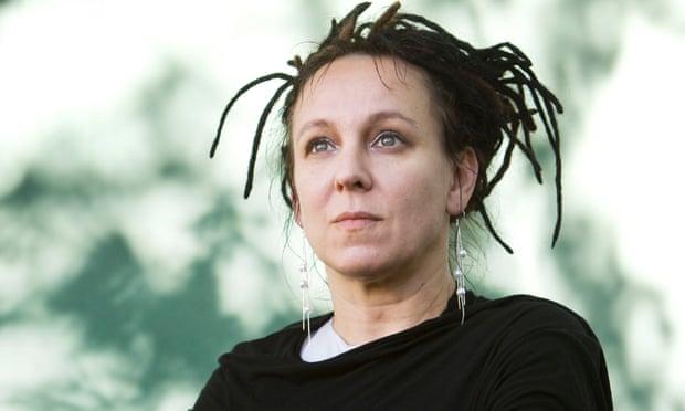 Olga Tokarczuk Dredy
