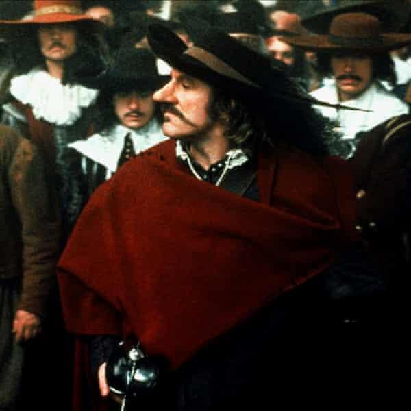 Gerard Depardieu in Cyrano de Bergerac