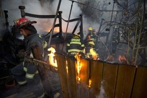Israeli firefighters