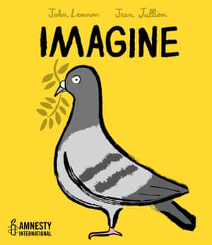 Draft cover of Imagine, to be published in 2017 by Amnesty International
