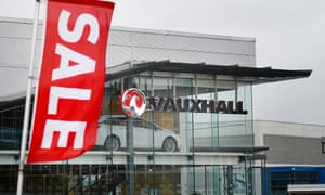 Vauxhall plant in Luton