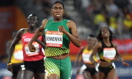 Dr Stéphane Bermon's comments came on the day the IAAF published new rules that will require athletes including Caster Semenya to reduce their testosterone levels.