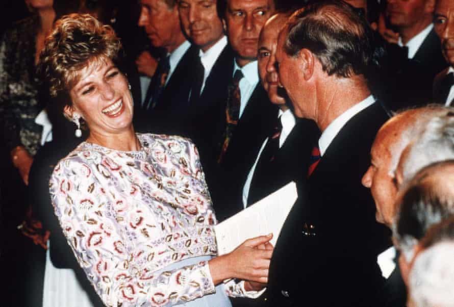 Diana in 1992