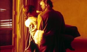 Maria Schneider and Marlon Brando in Last Tango in Paris.