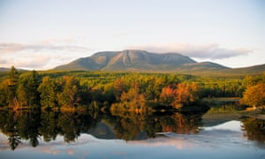 The Penobscot river in Maine. 'I fear that Teddy Roosevelt's idea of conserving lands for public use is at risk'.