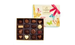 Godiva spring selection, £25 godivachocolates.co.uk