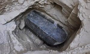 Sarcophagus found in Alexandria