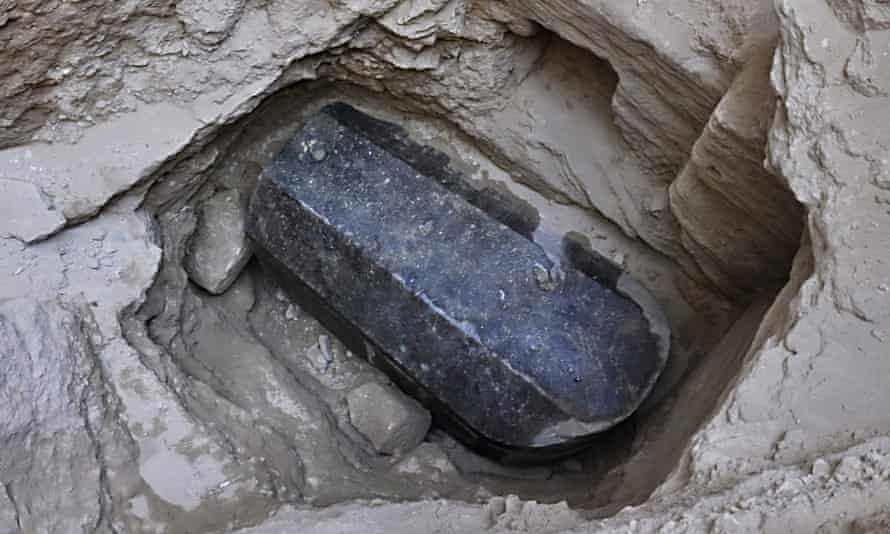 Sarcophagus found in Alexandria