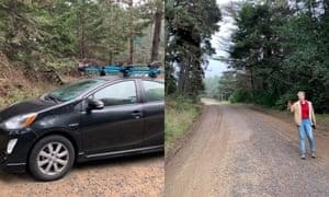 Kari Paul's adventure on a mountain.