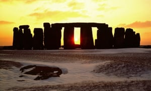 Druids and tourists are heading to the site for the winter solstice.