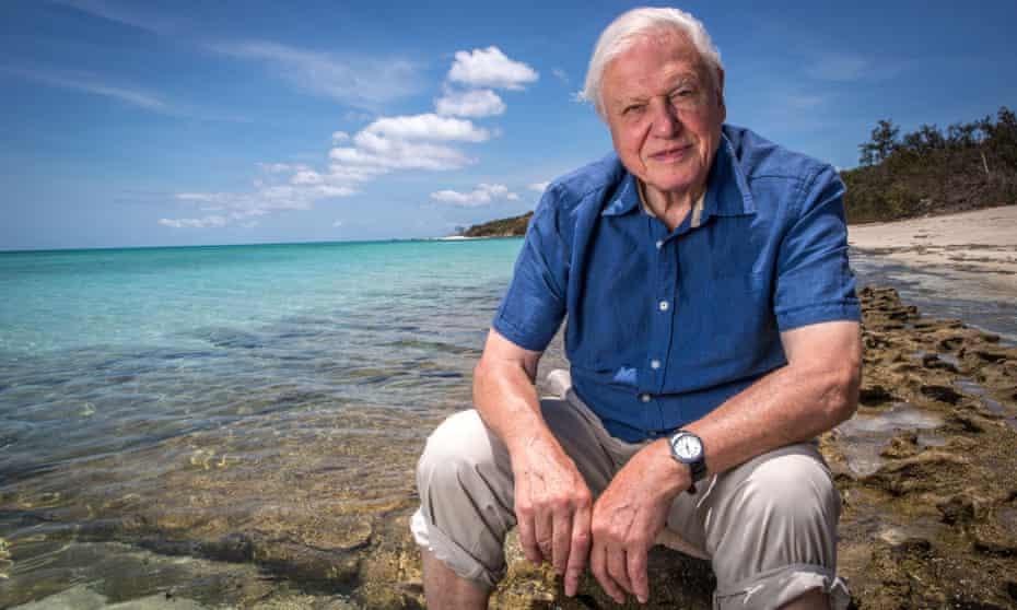 David Attenborough Great Barrier Reef
