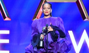 Rihanna at the 51st Annual NAACP Image Awards. Credit: Photo by Earl Gibson III/REX/Shutterstock