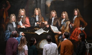 People view The Whig Junto at Tate Britain