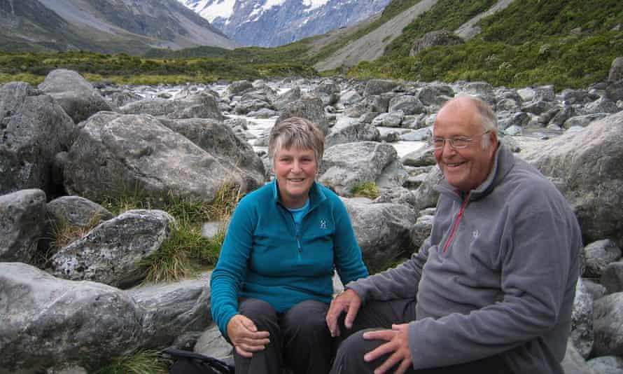 Tony Herbert with his wife, Brenda
