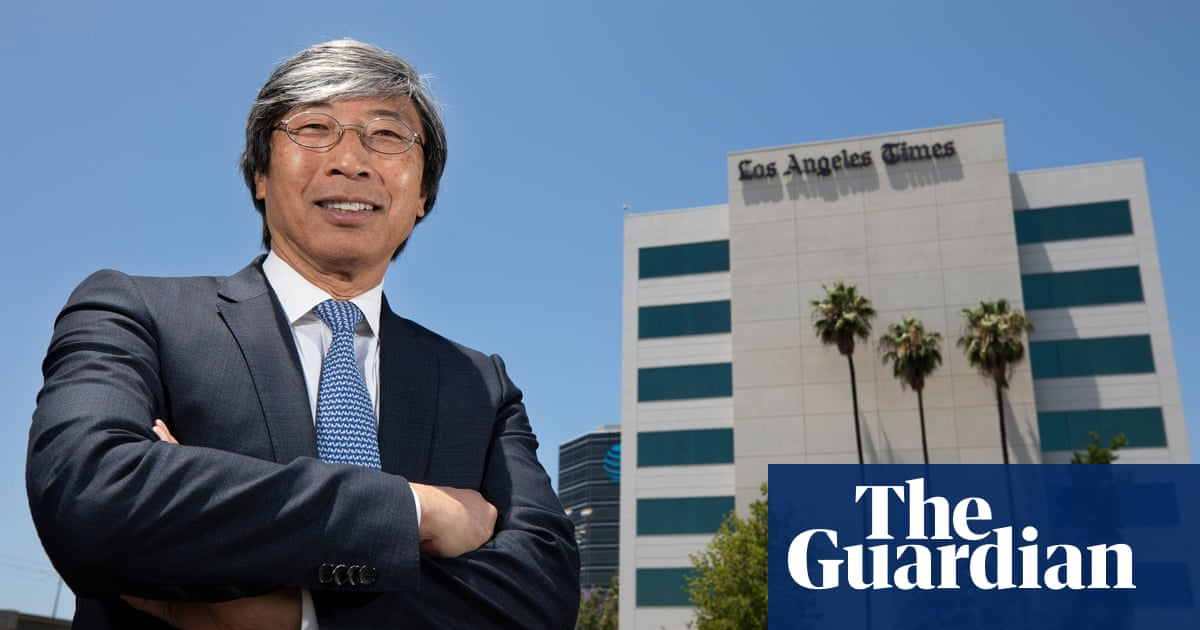 The billionaire who bought the LA Times: 'Hipsters will want paper soon' - Media - The Guardian