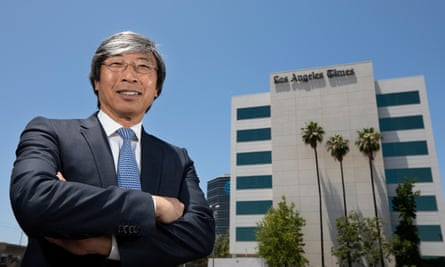 Dr Patrick Soon-Shiong, a former surgeon, is ushering the legacy newspaper into a new era.