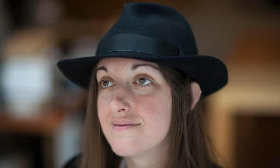 Frances Hardinge at home in London September 9, 2009