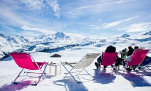 Where is everyone? … on the slopes at Beaufort