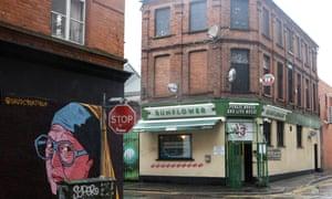 The Sunflower Bar in Belfast, Northern Ireland