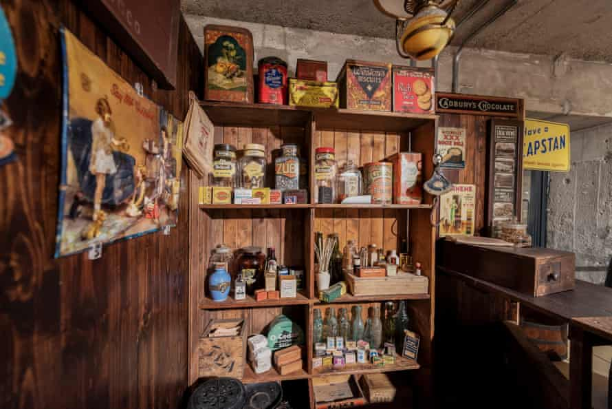 Old-fashioned shop display