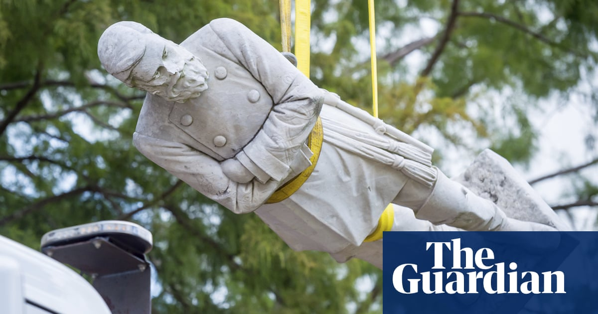 Confederate statue removed from city hall in Louisiana after 99 years