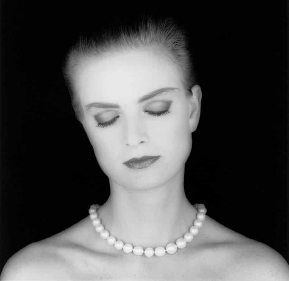 Princess Gloria Von Thurn und Taxis, 1984, by Robert Mapplethorpe.
