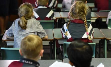 Australian schoolchildren