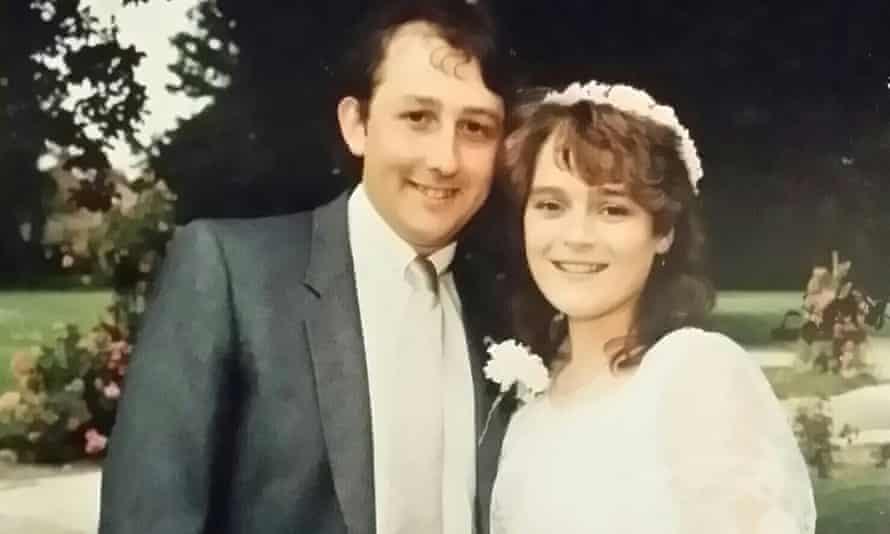 Mark and Sarah Stewart Wedding day