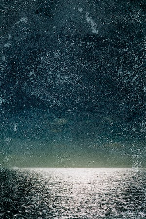 Amy Friend: Tiny Tears Fill An Ocean, 2020Friend gives her prints a weighty materiality by immersing them in sea water, then laying them out to dry for several weeks until the water has completely evaporated, leaving behind crystalline traces of salt.