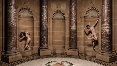 Nude dancers at the AGNSW