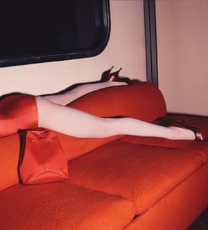 Guy Bourdin's heels in 1978.