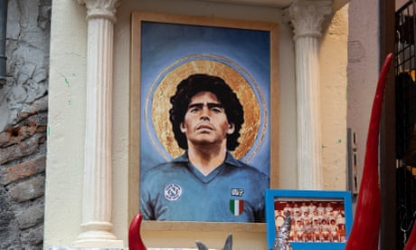 The cult of Diego Maradona – in pictures