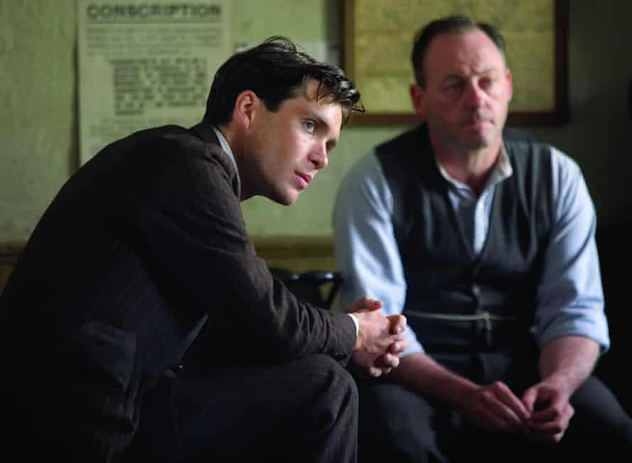 Cillian Murphy with Liam Cunningham in The Wind That Shakes The Barley