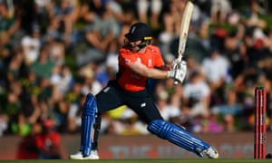 Eoin Morgan was magnificent for England, hitting 57 not out to see the tourists over the line.