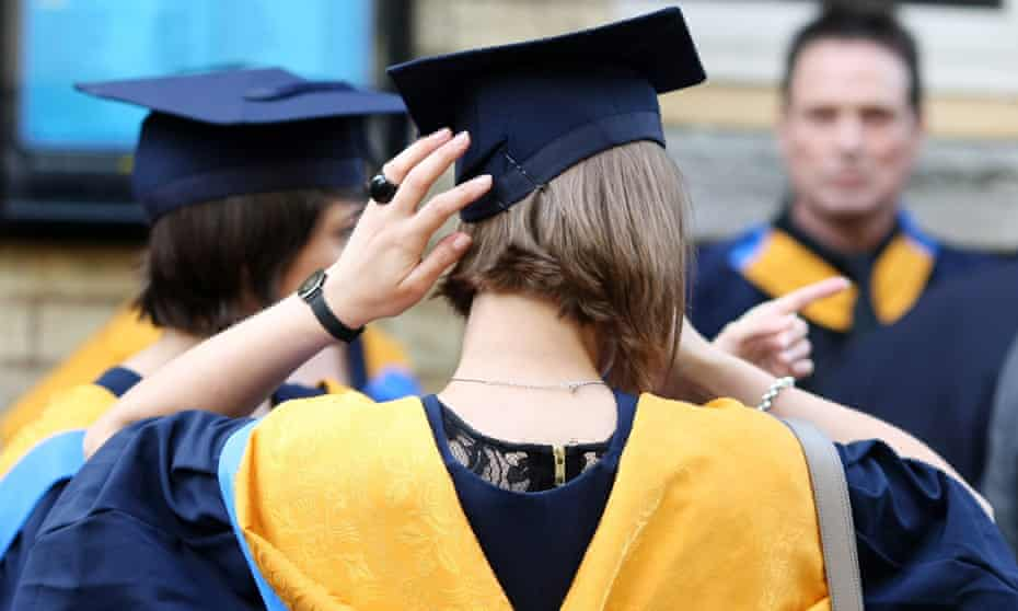 Some graduates are only earning £20,000 a year 10 years after leaving university.