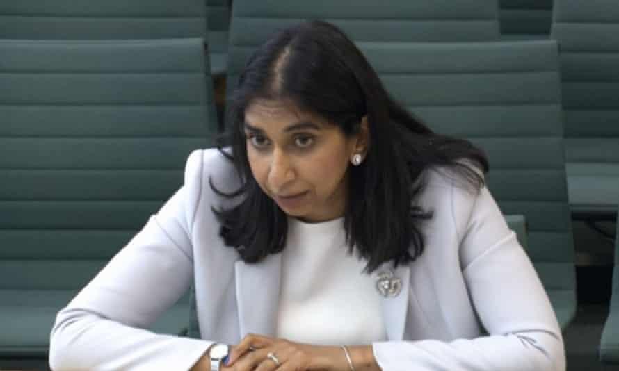 Attorney general Suella Braverman