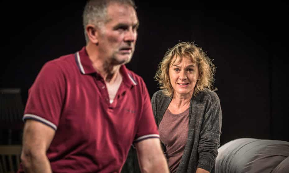 Sean Campion and Niamh Cusack in Unfaithful.