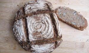 Felicity's perfect rye bread.