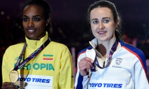 Muir and rival Genzebe Dibaba
