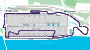 The drivers will navigate their way around a one-of-a-kind track.