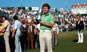 Tom Watson held Jack Nicklaus at bay to win the 1977 Open Championship at Turnberry, nicknamed the Duel in the Sun.