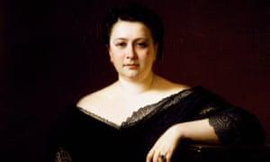 Portrait of Italian contralto Marietta Alboni (Citta' di Castello, 1826 - Ville d'Avray, 1894).