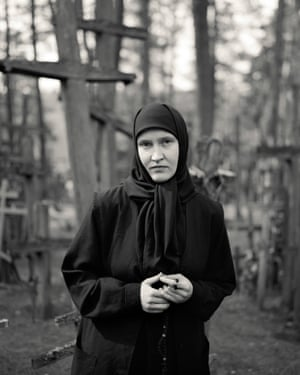 A photograph of a pilgrim by Alys Tomlinson