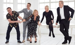 The cast of Cold Feet, one of the series to be shown on BritBox.