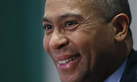 Deval Patrick hopes to model his campaign on the 2008 run of Barack Obama, a close friend.