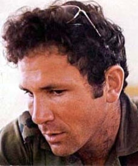 Yoni Netanyahu, who died in the raid on Entebbe airport, July 1976