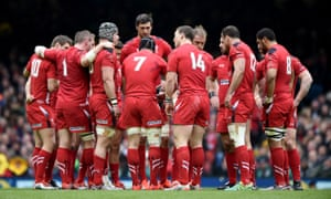 The Welsh rugby squad