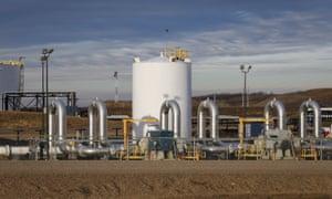 TransCanada's Keystone pipeline facility.