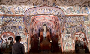 Cave Temples of Dunhuang is at the Getty Research Institute in Los Angeles